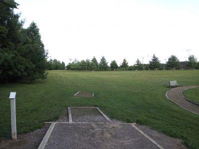 Randolph Park, Main course, Hole 10 Tee pad
