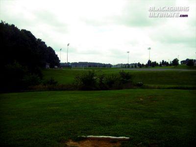 Randolph Park, Main course, Hole 12 Tee pad