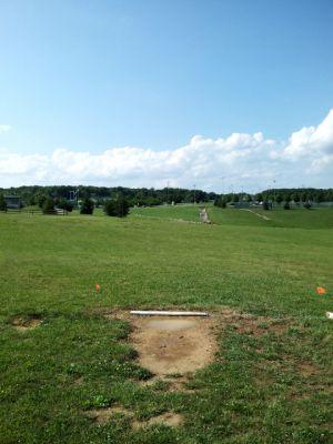 Randolph Park, Main course, Hole 14 Tee pad
