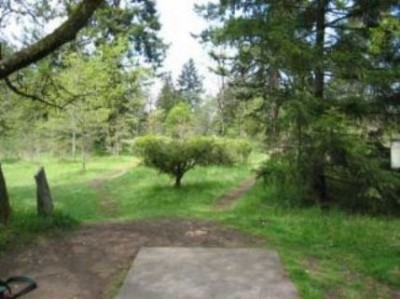 Fort Steilacoom Park, Pro Course, Hole 15 Tee pad