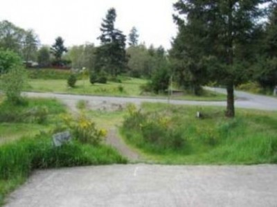 Fort Steilacoom Park, Pro Course, Hole 11 Tee pad