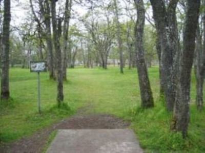 Fort Steilacoom Park, Pro Course, Hole 5 Tee pad