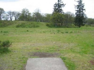 Fort Steilacoom Park, Pro Course, Hole 9 Tee pad