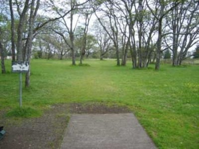 Fort Steilacoom Park, Pro Course, Hole 6 Tee pad