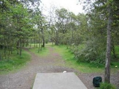 Fort Steilacoom Park, Pro Course, Hole 1 Tee pad