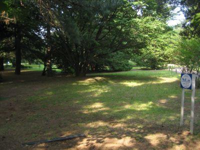 Showa Kinen Park, Main course, Hole 4 Tee pad