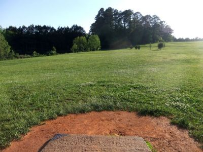 Alexander Park, Main course, Hole 17 Long tee pad