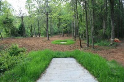 Alexander Park, Main course, Hole 13 Long tee pad