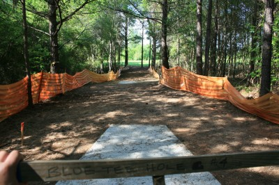 Alexander Park, Main course, Hole 4 Long tee pad