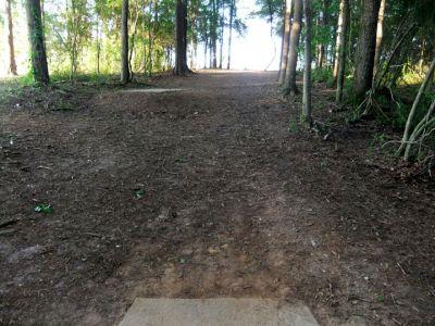 Alexander Park, Main course, Hole 11 Long tee pad
