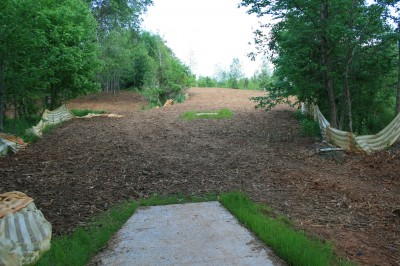 Alexander Park, Main course, Hole 14 Long tee pad
