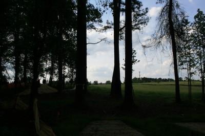Alexander Park, Main course, Hole 18 Long tee pad