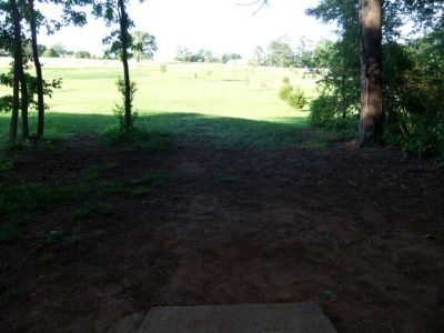 Alexander Park, Main course, Hole 16 Long tee pad