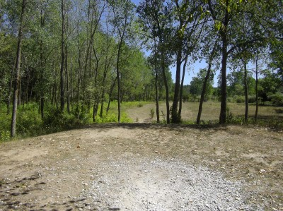 Independence Lake County Park, Chuck D. Memorial Course, Hole F Tee pad