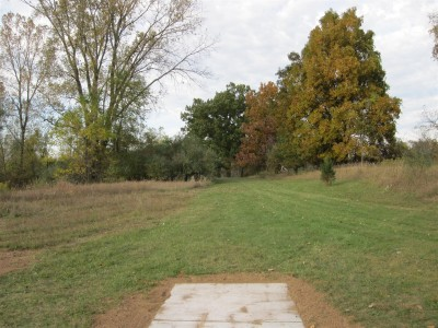 Independence Lake County Park, Chuck D. Memorial Course, Hole 11 Middle tee pad