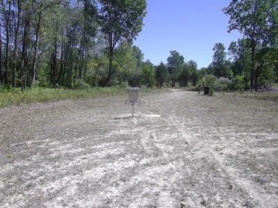 Independence Lake County Park, Chuck D. Memorial Course, Hole F Putt