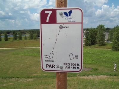 Lake Alliance, Main course, Hole 7 Long tee pad