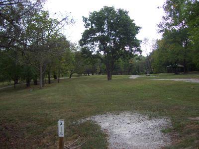 Westbrook Park, Main course, Hole 3 Tee pad