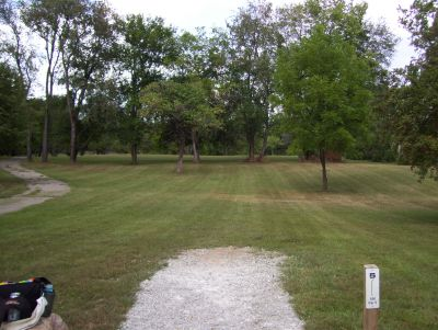 Westbrook Park, Main course, Hole 5 Tee pad