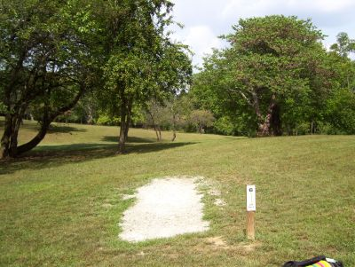 Westbrook Park, Main course, Hole 6 Tee pad