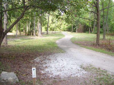 Westbrook Park, Main course, Hole 8 Tee pad