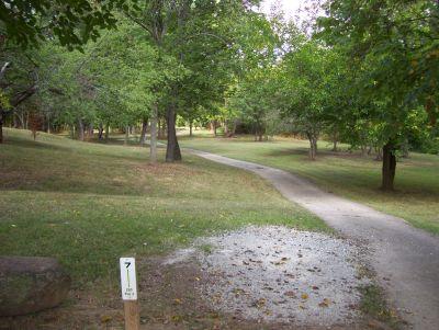 Westbrook Park, Main course, Hole 7 Tee pad