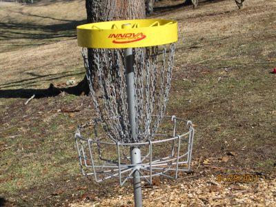Steele Creek Park, Main course, Hole 1 Alternate pin