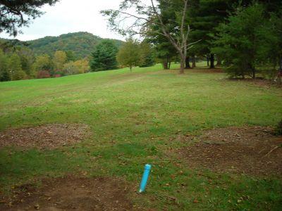 Steele Creek Park, Main course, Hole 8 Long tee pad