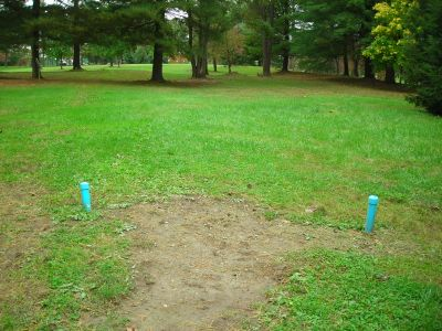 Steele Creek Park, Main course, Hole 9 Long tee pad