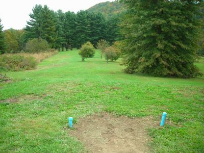 Steele Creek Park, Main course, Hole 6 Long tee pad