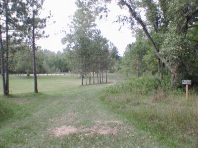 Deerfield Park, Deerfield, Hole 18 Long tee pad