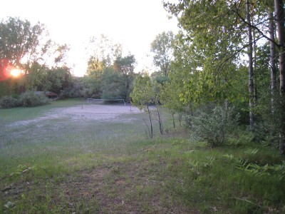 Deerfield Park, Deerfield, Hole 2 Tee pad