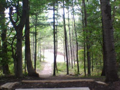 Deerfield Park, Deerfield, Hole 11 Long tee pad