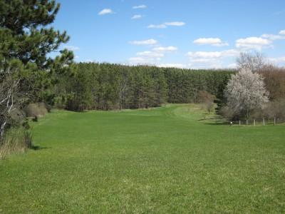 Deerfield Park, Deerfield, Hole 5 Tee pad