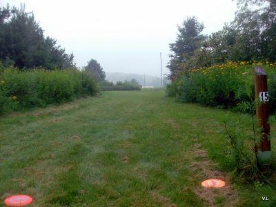 Evergreen Fields, Main course, Hole 15 Long tee pad