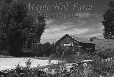 Maple Hill, Blues, Hole 1 Hole sign