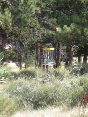 YMCA of the Rockies, Main course, Hole 6 Reverse (back up the fairway)