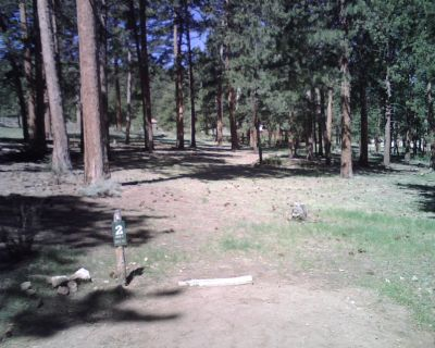 YMCA of the Rockies, Main course, Hole 2 Tee pad