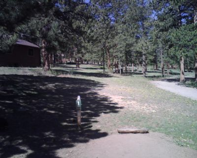 YMCA of the Rockies, Main course, Hole 1 Tee pad