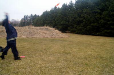 Farmview, Main course, Hole 4 Short approach