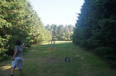 Farmview, Main course, Hole 4 Putt