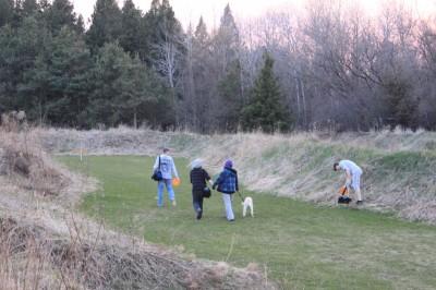 Farmview, Main course, Hole 16 Midrange approach