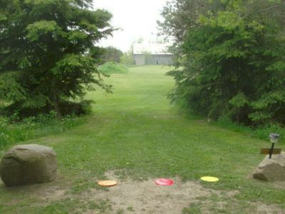 Farmview, Main course, Hole 18 Short tee pad
