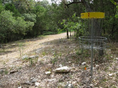 Inwood Hollow, The Creek, Hole 2 Reverse (back up the fairway)