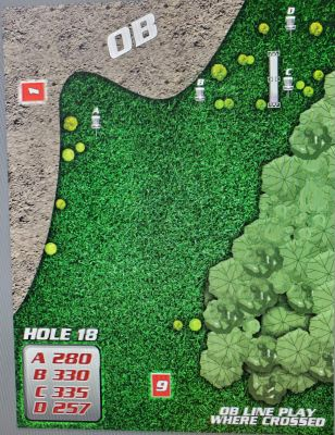 Anderson River Park, Main course, Hole 18 Hole sign
