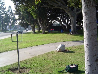 Private Anderson Park, Main course, Hole 5 Tee pad