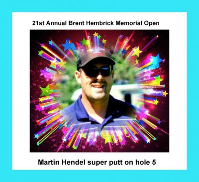 Brent Hambrick Memorial, West course, Hole 14 Tee pad