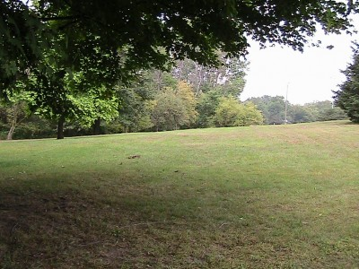 Alan G. Davis Park, Main course, Hole 1 Tee pad