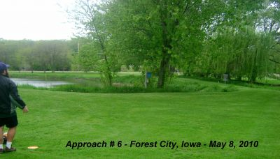 Forest City DGC, Main course, Hole 6 Alternate pin