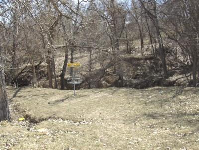 Camenisch Park, Blair Witch, Hole 8 Putt